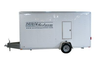 Scotties 3 - Three Luxury Restroom Trailer